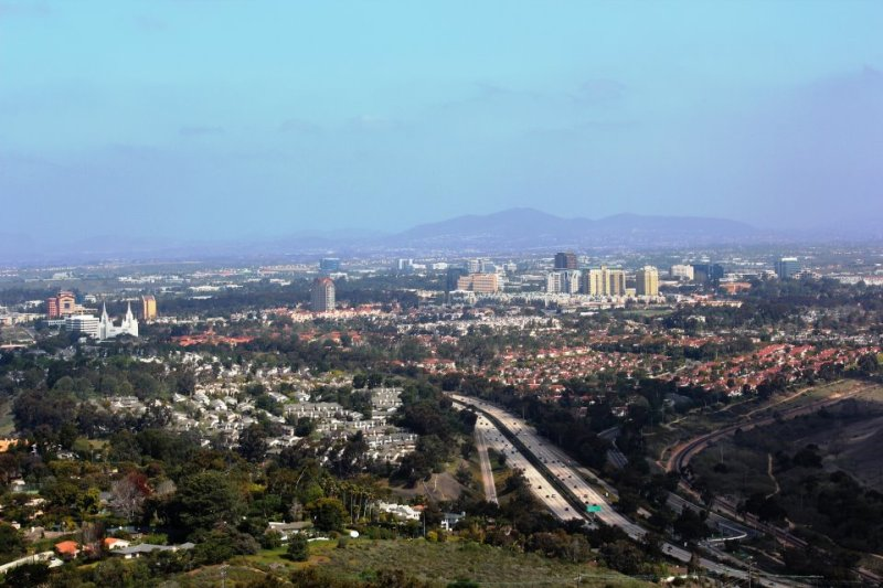 San Diego overview as seen from Mt. Soledad