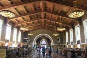 Union Station in LA /Unstoppable