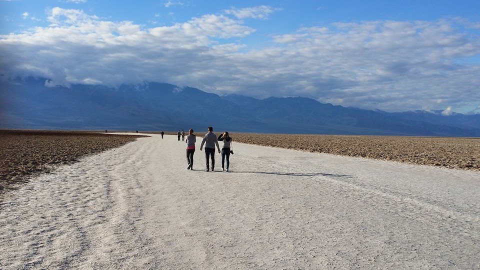 THE Lowest point in North America: Badwater Basin in Death Valley NP