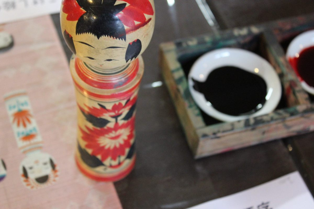 Kokeshi-making