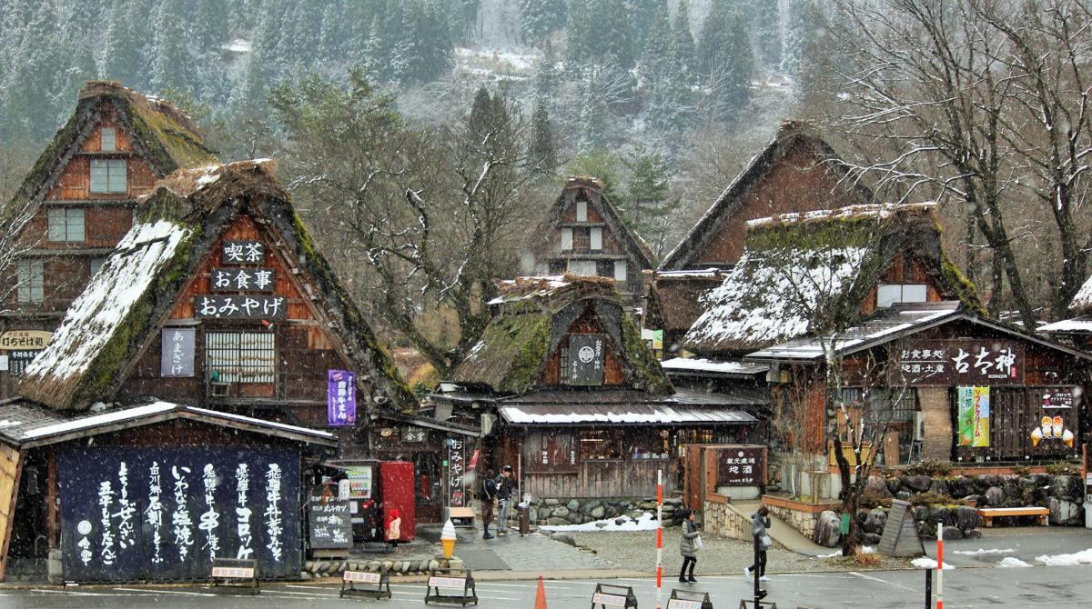 Shirakawago: Winter Wonderland in Japan