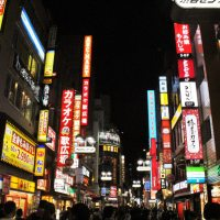 Double Post: Himeji Castle, and Shibuya Crossing at night